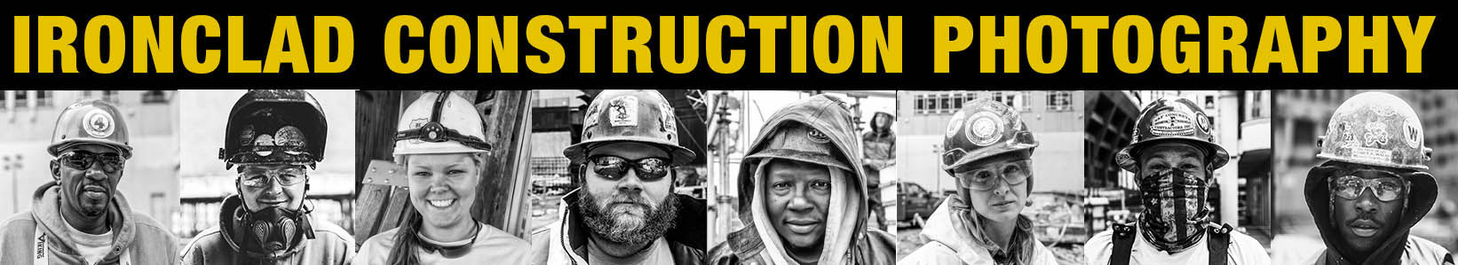 Ironclad construction photography by Lou Jones